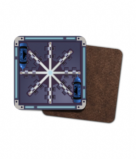 Fortnite Chiller Trap Single Hardboard Coaster